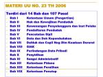 materi uu no 23 th 2006