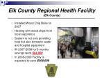 elk county regional health facility elk county