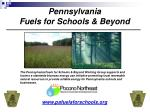 pennsylvania fuels for schools beyond