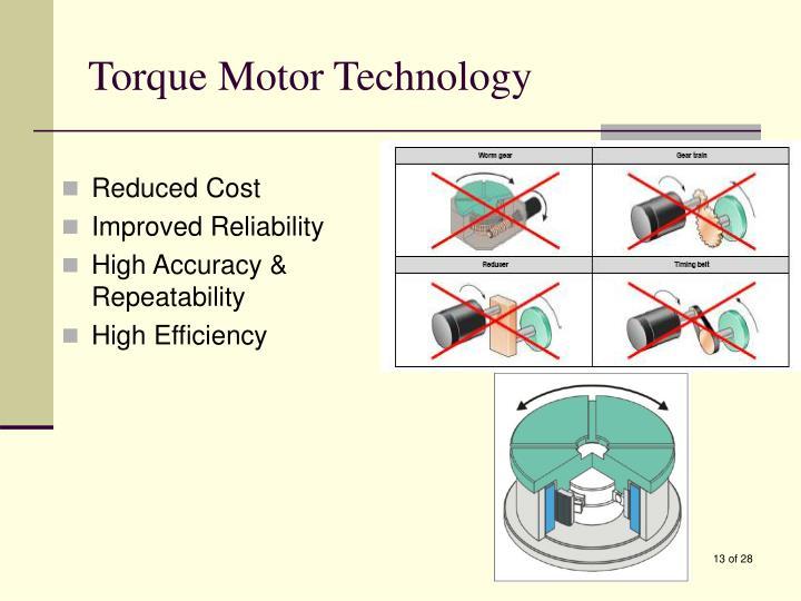 Torque Motor Technology