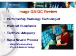 image qa qc review