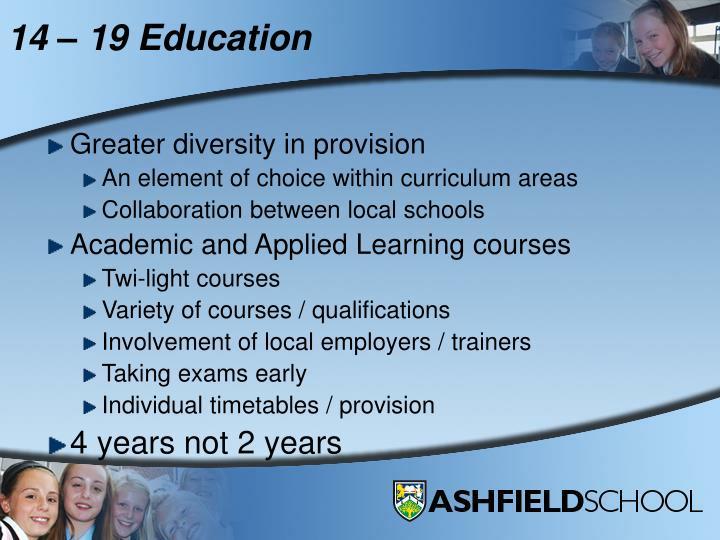 14 19 education