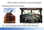 why study aviation in psychology