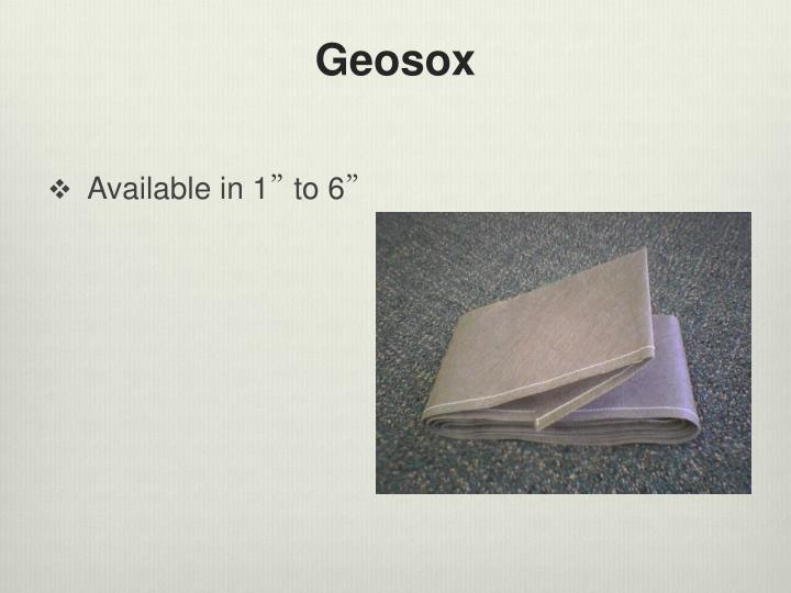 Geosox
