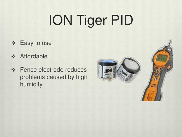 ION Tiger PID