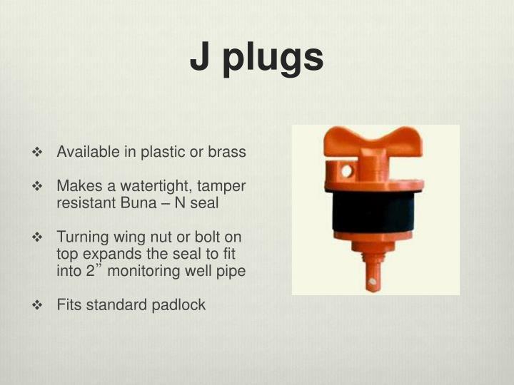 J plugs