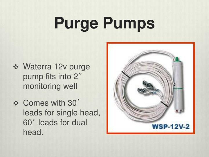 Purge Pumps