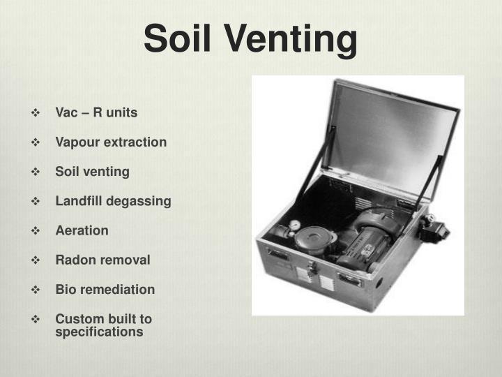 Soil Venting