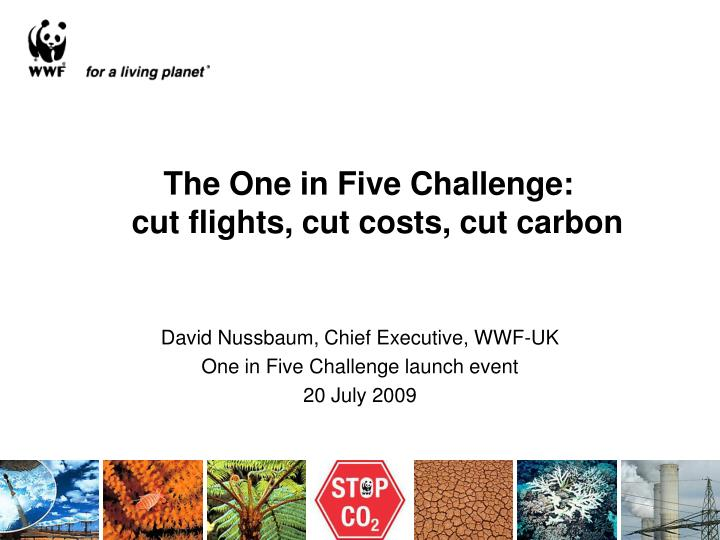 the one in five challenge cut flights cut costs cut carbon n.