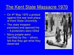 the kent state massacre 1970
