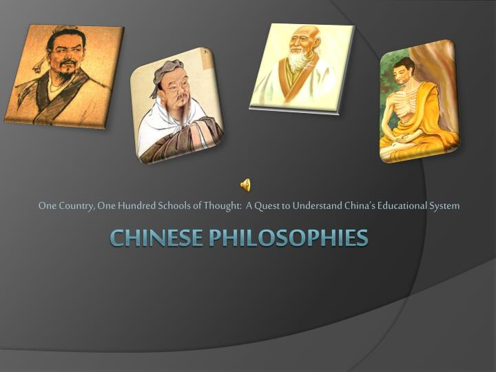 one country one hundred schools of thought a quest to understand china s educational system