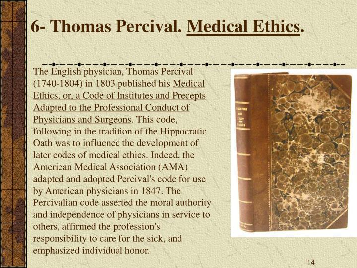 6- Thomas Percival.