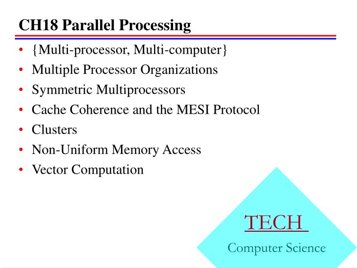 ch18 parallel processing n.