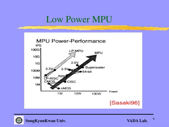 Low Power MPU