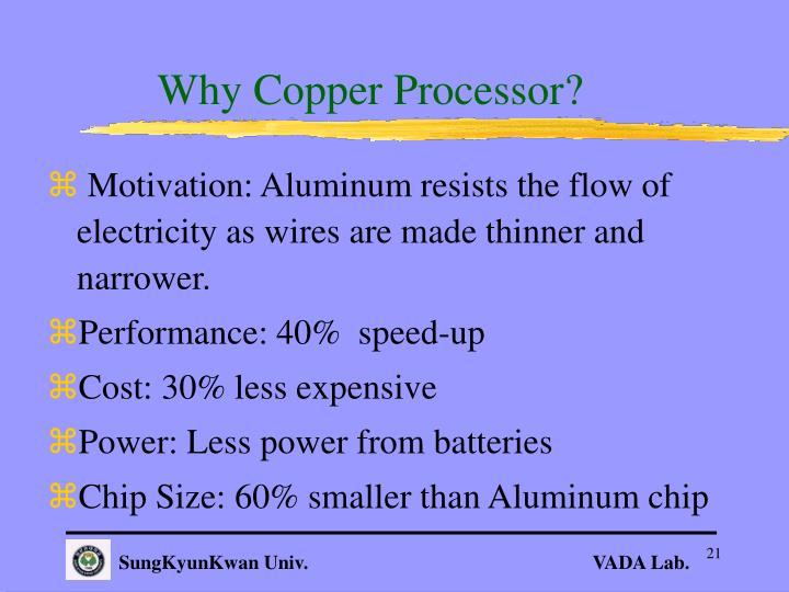 Why Copper Processor?