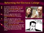 reforming the electoral college