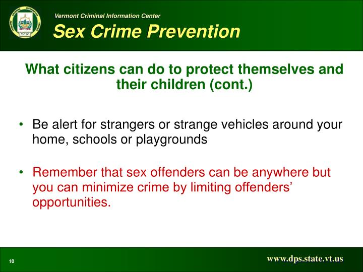 What citizens can do to protect themselves and their children (cont.)
