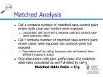 matched analysis1