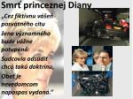 smr princeznej diany