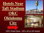 hotels near taft stadium okc oklahoma city