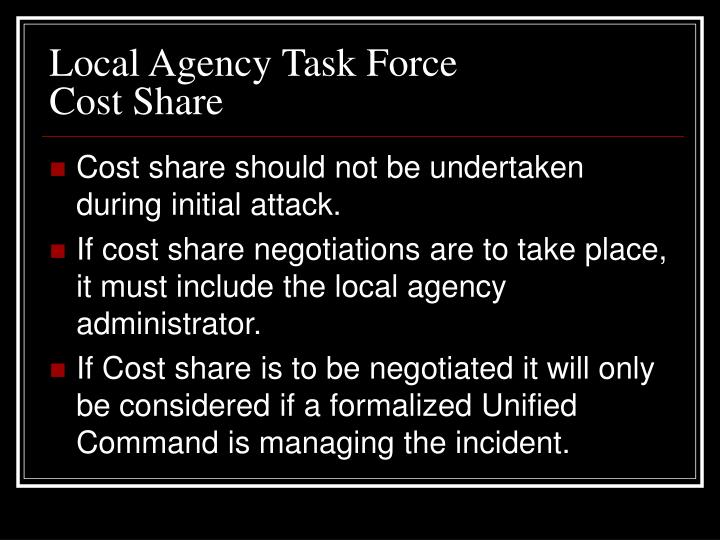 Local Agency Task Force