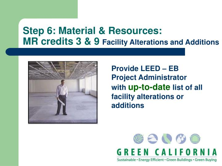 Step 6: Material & Resources:
