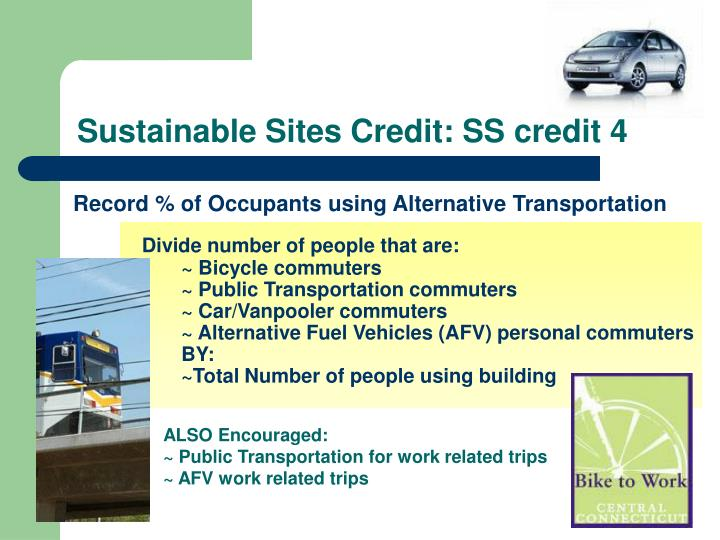 Sustainable Sites Credit: SS credit 4