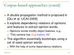 corpus based approaches contd2