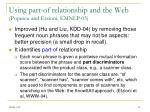 using part of relationship and the web popescu and etzioni emnlp 05