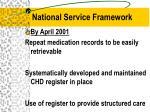 national service framework1