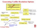 generating conflict resolution options