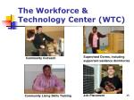 the workforce technology center wtc1