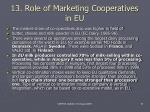 13 role of marketing cooperatives in eu