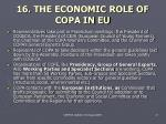 16 the economic role of co p a in eu