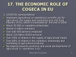 17 the economic role of co gec a in eu