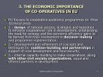 3 the economic importance of co operatives in eu