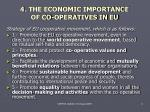 4 the economic importance of co operatives in eu