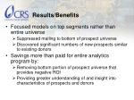results benefits