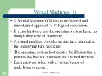 virtual machines 1