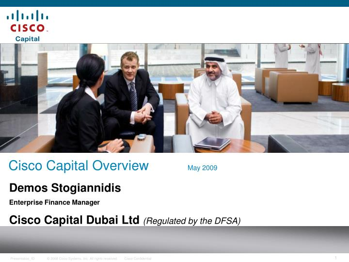 cisco capital overview may 2009 n.