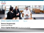 cisco capital overview may 2009