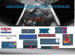 organizations that leverage