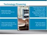 technology financing