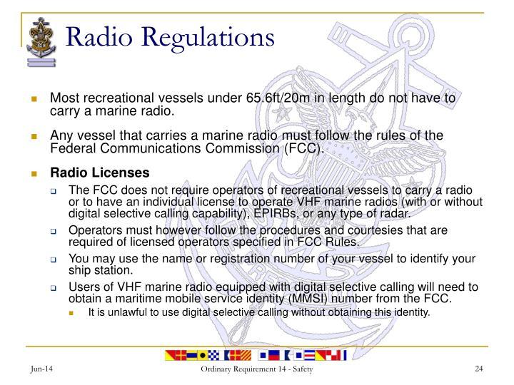 Radio Regulations