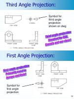 third angle projection