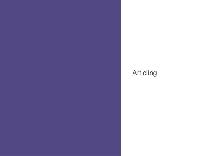 Articling