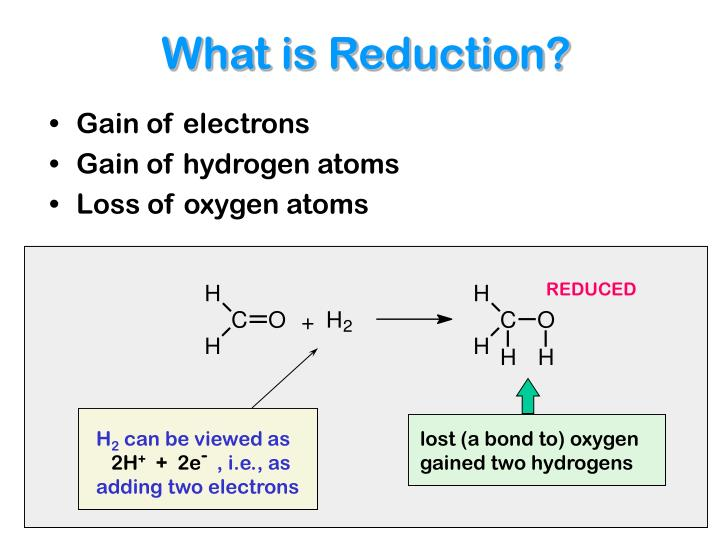 What is Reduction?