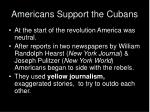 americans support the cubans1