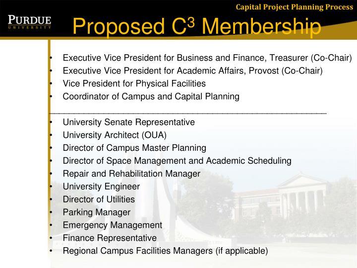 Proposed C