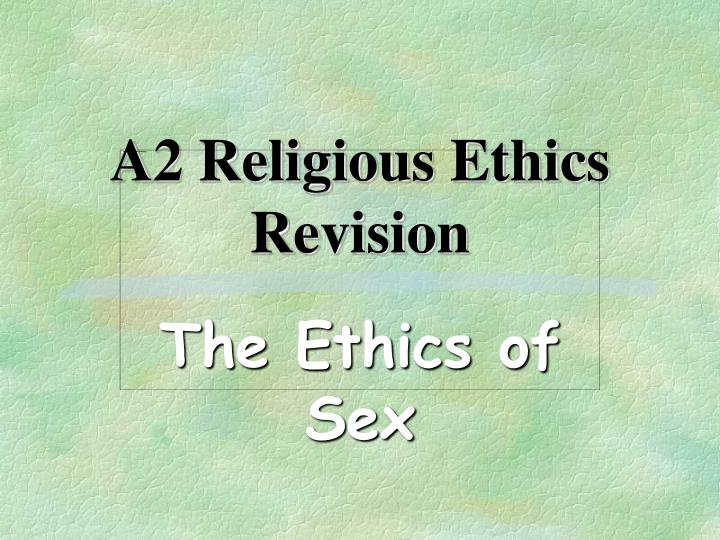 a2 religious ethics revision n.
